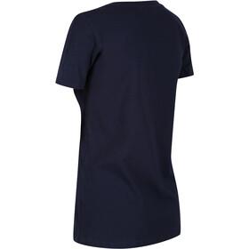 Regatta Filandra IV Camiseta Mujer, navy forever